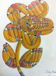 Fridge Door Gallery - No. 2 Pencils, creative problem solving, adapted from Ken Vieth's 'From Ordinary to Extraordinary'