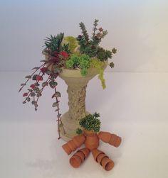 Miniature flowerpot man