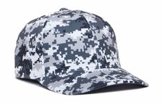 Digital Camo Hat by Pacific Headwear. New 2015. Great Deal and Matches Digital Camo pattern by Badger Sport