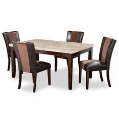 Ashley Hamlyn D527 01455T55B 55 Rectangular Table And 4 Chairs For The Home Pinterest