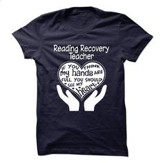 Proud Be A Reading Recovery Teacher - #funny shirt #sweater vest. I WANT THIS => https://www.sunfrog.com/No-Category/Proud-Be-A-Reading-Recovery-Teacher.html?68278