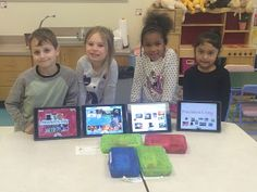 Ms. Johnson's kindergarten students created their very own TinyTap lessons for Digital Learning Day