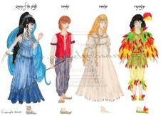magic_flute_characters_by_firefliesink-d371s1b