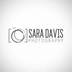 Photography logo design - sketched camera logo watermark. Camera ...