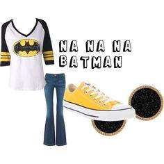 BATMAN. Shirt and shoes! :)