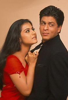 Shah Rukh Khan and Kajol - promotion shot for K3G (2001)