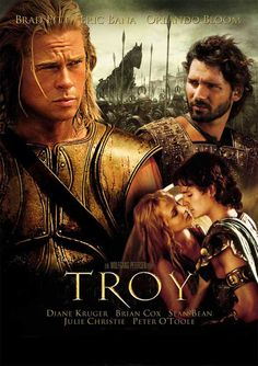 Troy - Brad Pitt Eric Bana Orlando Bloom Done! I wan in tears by the end of this movie, another amazing performance from Brad Pitt Film Movie, See Movie, Epic Film, Great Films, Good Movies, Famous Movies, Troy Movie, Eric Bana, Films Cinema
