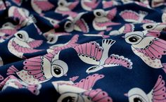 Fabric Pattern, birds