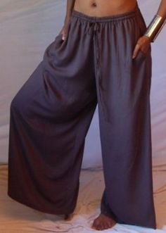 43d751ee7a7b1 TAUPE CULOTTE PANT WIDE LEG ELASTIC WAIST DRAWSTRING - FITS - 2X 3X 4X -  Z307S LOTUSTRADERS LOTUSTRADERS.  47.99