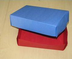 How to Make a Box Out of Construction Paper | eHow.com