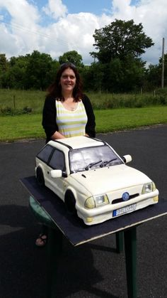 The car cake that could feed a village