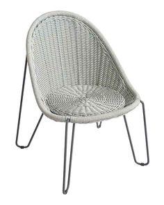 BOREK rope Pasturo chair iron grey