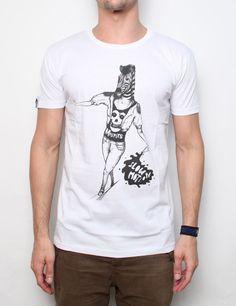 Byg     Bang t-shirt Artist Mato Zebra white