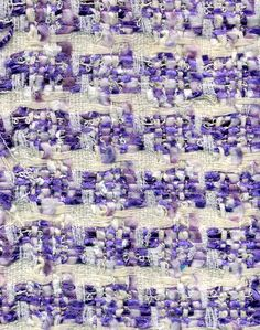 Lilac Linton weave fabric silk and wool Weaving Designs, Weaving Projects, Tweed Fabric, Fabric Yarn, Weaving Textiles, Textile Fabrics, Textile Texture, Fabric Textures, A Level Textiles