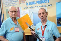 InventHelp's INPEX 2014 - Inventor Booth  www.InventHelp.com -- www.INPEX.com -- #Invent #Help #Invention #Innovation #InventHelp #BigFoot #VacSweep #Vacuum