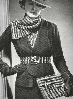 1936 20th Century Fashion, 1930s Fashion, Fashion History, Fashion Inspiration, Glamour, Suits, Vintage, Suit, Wedding Suits
