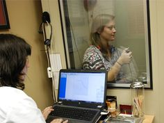 Dr. Sheri Gostomelsky performing hearing aid test at Audiology Associates of Deerfield serving both locations.  Audiology Associates of Deerfield, PC offers a full range of diagnostic and preventative hearing healthcare professional services.   Audiology Associates of Deerfield, PC 400 Lake Cook Road, Suite 108 Deerfield, IL 60015 (847) 999-0211 http://www.deerfieldaudiology.com/   Audiology Associates of Deerfield, PC 1535 Lake Cook Road, Suite 412 Northbrook, IL 60062 (847) 999-0272