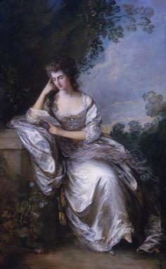 Mrs John Douglas (Frances Browne) by Thomas Gainsborough, 1783-1784