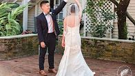 Wedding video at the Courtyard at Lake Lucerne and Trinity Reception Center captured by top Orlando wedding photographer & videographer