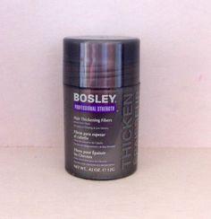 Bosley Hair Thickening Fibers in Light Brown #Bosley