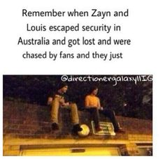 """Best. Moment. Ever.  It's not fair Our fandom changed them to who they r now, it not a bad thing..... But don't u miss the old 1D when Louis was sassy and zayn would say """"Vas' Happenin' """"??   Comment if u do miss them...."""