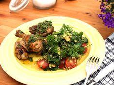 Grillad kyckling med bulgursallad