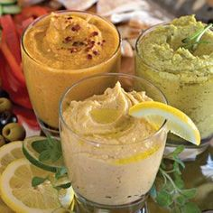 This homemade hummus make a great appetizer for parties or casual dinner get-togethers, and can even be made up to 3 days ahead. Serve with fresh pita wedges and a veggie plate. Appetizers For Party, Appetizer Recipes, Party Snacks, Hummus Benefits, Veggie Plate, Good Food, Yummy Food, Yummy Recipes, Free Recipes