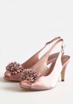 Heels, Peep toe and Roses on Pinterest