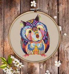 This is modern cross-stitch pattern of Mandala Chinchilla for instant download.  You will get 7-pages PDF file, which includes: - main picture for your reference; - colorful scheme for cross-stitch; - list of DMC thread colors (instruction and key section); - list of calculated