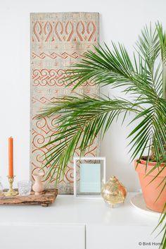 Groen in huis stylingtip palmboom Binti Home Blog ©BintiHome