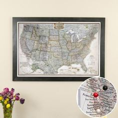 map with pins online
