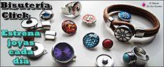 Bisutería Click-Estrena joyas cada día www.elrincondelascuentas.com