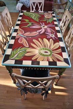 great patio table