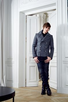 Balmain Fall 2012 Menswear - Collection - Gallery - Style.com