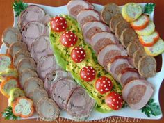 Food Platters, Holidays And Events, Sushi, Bacon, Deserts, Food And Drink, Favorite Recipes, Meals, Cooking