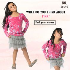 It's raining PINK! Check out our all pink collection at sbuys.in #kidswear #kidsfashion #pinklove #affordablefashion #LooksandStyles