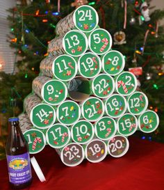 A beer advent calendar? Hello, 24 days of awesome. Someday I will have a girlfriend/wife to do this for me.