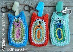 Crochet pattern CAT ornament by ATERGcrochet