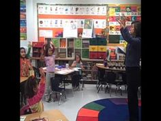This video shows an example of a dual language classroom.