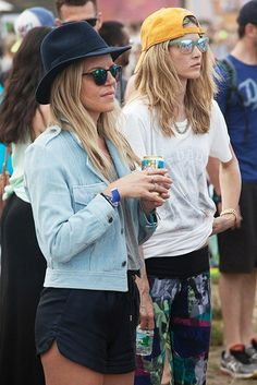 Streetstyle spotting from the #governorsball2014 #festival >>> feat the very best of nyc festival style