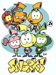 snorks. saturday morning cartoons