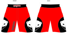 brand new mongoose mma shorts