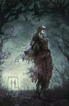 Haunting Lady Stoneheart Illustration  by pinselohr:      I'll let you guess three times who the dead bodies are