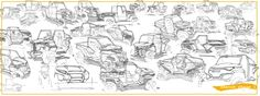 OFF ROAD by Bryan Johnson at Coroflot.com / sketch page layout