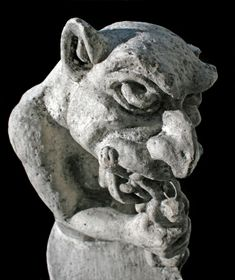 Scary Pictures - Hungry Gargoyle