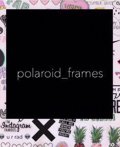Polaroid Frame, Polaroids, Polaroid Template, Edit Your Photos, Photo Look, Graphic Design Inspiration, Aesthetic Wallpapers, Highlight, Overlays