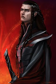 """toherrys: """"Fëanor for feanore""""Second of the art giveaways, at long last. I'm SO SORRY it took this long! """" """""""