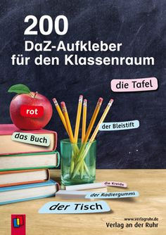 DaZ in der Grundschule: Aufkleber fürs Klassenzimmer