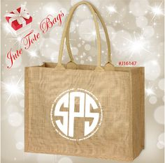 Jute Tote Bags. Perfect for shopping, corporate events, eco branding, the beach, gifts, holidays, weddings, events and more. Minimum Qty. 50