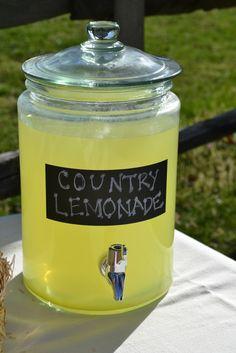 "Photo 1 of 10: Farm Theme / Birthday ""Barnyard Bash"" | Catch My Party - Darling Lemonade jar!"